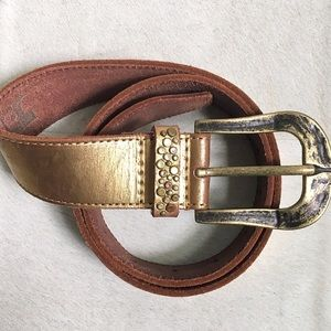 Joe's Jeans | Gold Studded Belt